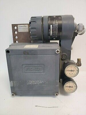 Guaranteed! Fisher Electro-Pneumatic Valve Positioner 3582I