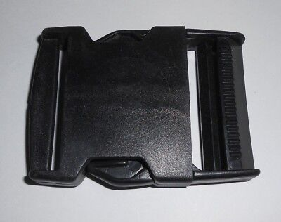 50 Plastic Slide Clip Buckle Fasteners, Squeeze Release! 50mm wide Sewing/Straps