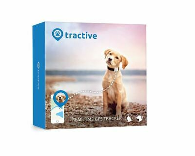 Tractive Dog GPS Tracker – Waterproof dog tracking device with unlimited range