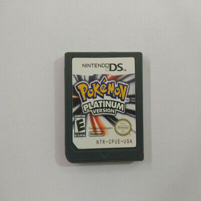 for 3DS NDSI NDS Pokemon:Platinum version (Nintendo DS,2009) Game Card UK X8W2F