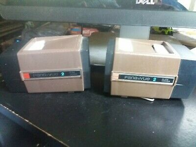 GAF Pana-Vue 2 Illuminated SLIDE VIEWER - No battery corrosion but doesn't light