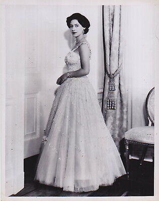 CECIL BEATON: Princess Margaret Clarence House*VINTAGE Iconic 1956 ROYALTY photo