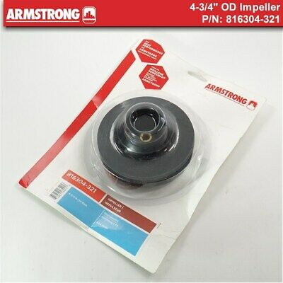 "NEW Armstrong Pump 816304-321 - 4-3/4"" Impeller"
