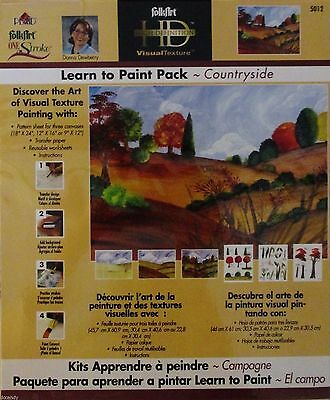 Transfer Paper Worksheets Donna Dewberry Learn to Paint COUNTRYSIDE Patterns