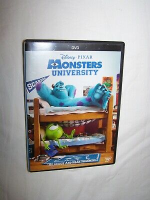 Disney Pixar: Monsters University (DVD 2013) Animation, Adventure; VGC