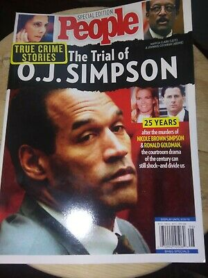 The Trial Of OJ Simpson People Magazine Special Edition 2019