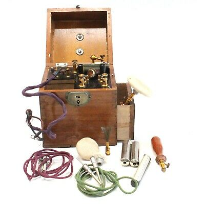 Vintage ELECTRICAL MEDICAL/ THERAPY TREATMENT MACHINE For Display Only - C03
