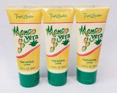 Triple Lanolin Hand and Body Lotion ~ MANGO VERA 3x66ml/2.25Fl.Oz ~