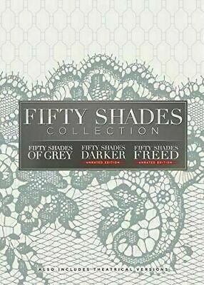 Fifty Shades: TRILOGY 3-Movie Collection of Grey, Darker, Freed (DVD, 2018) NEW