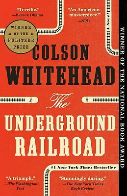 The Underground Railroad by Colson Whitehead (EBØ0K 2016)