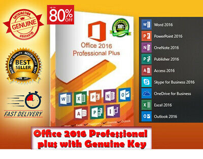 Office 2016 Professional Plus full download 📥 genuine key 🔑 instant delivery