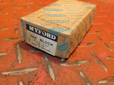 2Nd New Myford Super 7 Ml7 Boxed Small V Block Lathe  Engineering