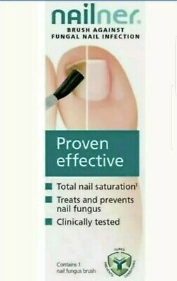Nailner Brush Toe Fungal  Nail Treatment Repair Nail Proven Effective 5ml