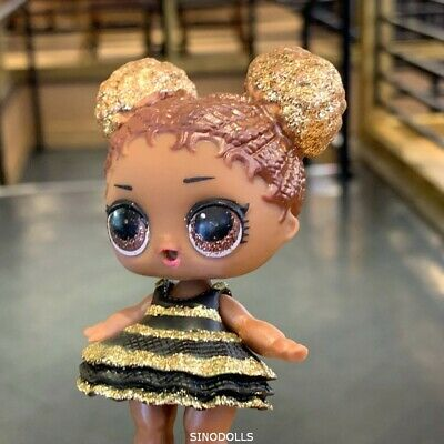 in Queen bee Dress outfit LOL Surprise Dolls Glam Series Court Champ Doll