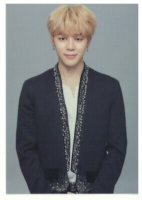 BTS Official Authentic Goods 2018 Wings Tour The Final Photo Card - JIMIN 6/6