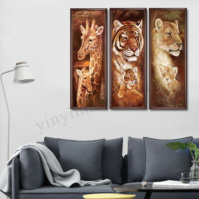 5D DIY Full Drill Diamond Painting Animals Theme Cross Stitch Embroidery Home AU