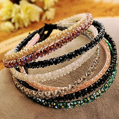 Crystal Hairband Bling Headband Headwear Wedding Jewelry Bead Rhinestone