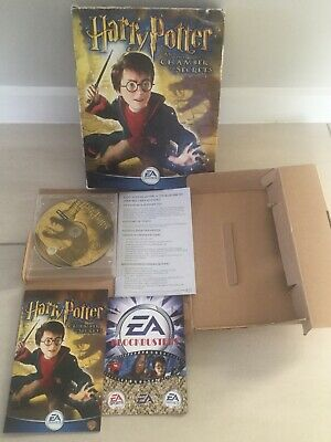 EA Games Harry Potter & The Chamber Of Secrets 3D Adventure PC CD-ROM Game
