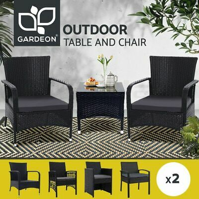 Gardeon Outdoor Furniture Dining Chairs Bar Coffee Cafe Table Patio Bistro