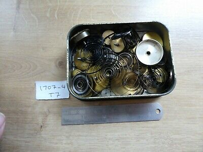 Good Vintage Clock Parts Mainspring Barrels For A Clockmaker