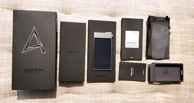 Astell & Kern AK 100ii, silver, (used), DAP Player with box and extras