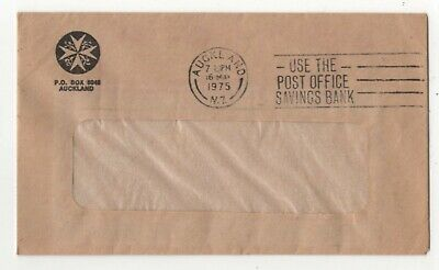 New Zealand St Johns Ambulance Cover 16 May 1975 Auckland Postmark 138c