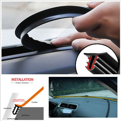 Strips Sealing Strip Interior Car Rubber Dashboard Edges Auto Upgrade Replaces