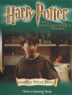 Harry Potter and the Philosopher's Stone: Around Hogwarts, J. K. Rowling, Used;