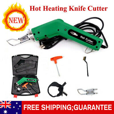 Hot Heating Knife Cutter for Rope & Practical Hand Held Fabric Cutting US Plug