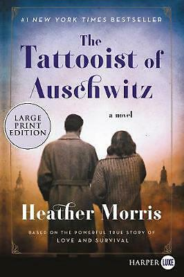 The Tattooist of Auschwitz by Heather Morris (English) Paperback Book Free Shipp