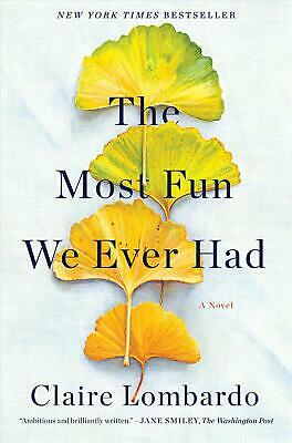 The Most Fun We Ever Had by Claire Lombardo (English) Hardcover Book Free Shippi