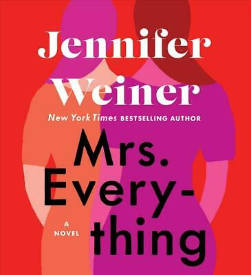 Mrs. Everything by Jennifer Weiner (English) Compact Disc Book Free Shipping!