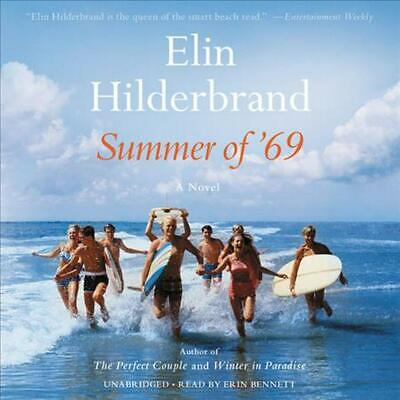 Summer of '69 by Elin Hilderbrand (English) Compact Disc Book Free Shipping!