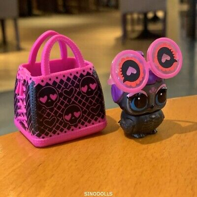 "LOL Surprise LILS Makeover Series Cuervo Bonito ""Lil Pet"" Series 5 Bird with bag"