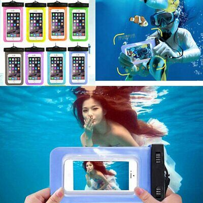 Waterproof Underwater Pouch Dry Bag Case Cover For iPhone Phone Touchscreen New