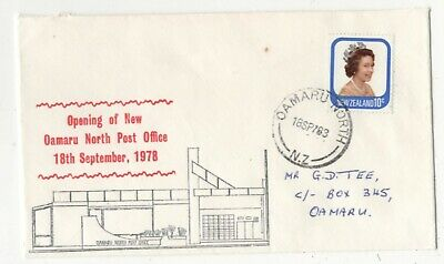 New Zealand Cover 18 Sep 1978 Opening New Oamaru North Post Office 138c