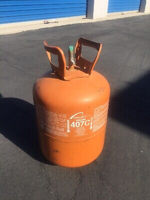 R407C Refrigerant 25lb Cylinder- R-407c NEW USA- R22 REPLACEMENT