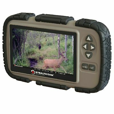 "Stealth Cam STC-CRV43 Handheld SD Card Viewer 4.3"" Video Player Trail Camera"