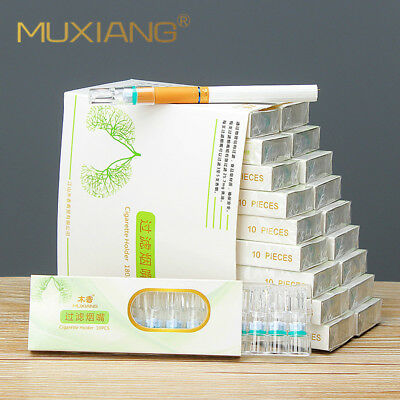 180pcs/set Cleaning Disposable Reduce Tar Smoke Tobacco Filter Cigarette Holder
