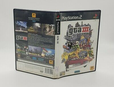 Gta 3 III gioco per Playstation 2 ps2 italiano grand theft auto videogioco