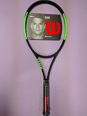 NEW WILSON BLADE 98 (16x19) Countervail 2018/2019 4 1/4 Tennis