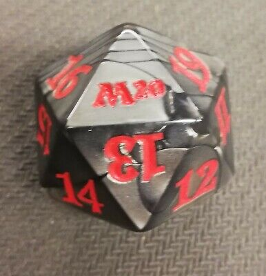 MTG Magic the Gathering - D20 Oversized Dice Spin Down - Core Set 2020