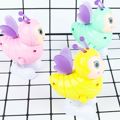 Cute Bee Clockwork Toy Wind Up Toy Kids Early Educational Toy Gift Color Random