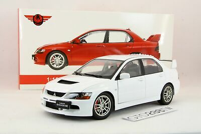 Super A 1:18 scale Mitsubishi Lancer Evolution IX GSR(EVO 9)White *Full Opening*