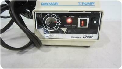 Gaymar Tp-200  Solid State T-Pump Heat Therapy Pump W/Power Cord  !(221595)