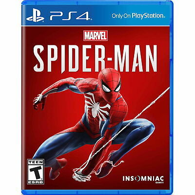 Spider-Man PS4 Steelbook Case Collectors Edition
