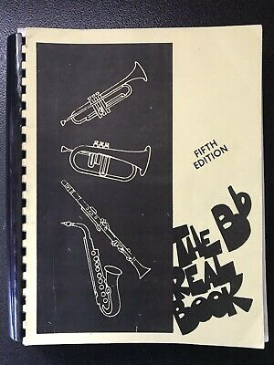 The Real Book - B flat Edition Music Book (5th Edition)