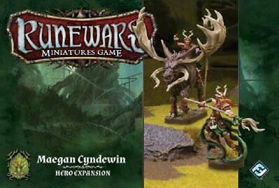 Runewars Minatures Game: Maegan Cyndewin Hero Expansion (Fantasy Near Mint HT1