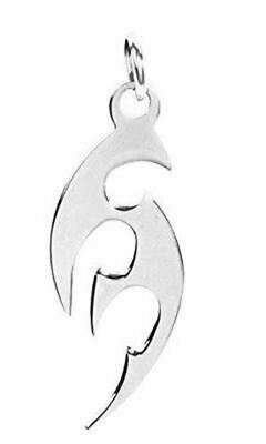"""Summit Double Dragon Pendant Collectible Medallion Necklace Pewter Jewelry 2/""""L"""