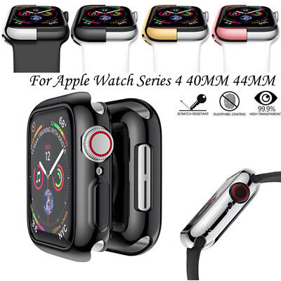 TPU protector parachoques caso cubierta para Apple Watch Serie 4 40/44 MM